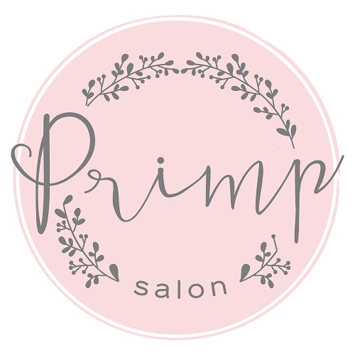 Primp Salon logo.